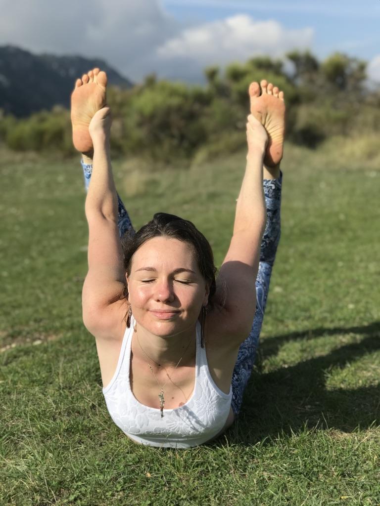 Kelly éclat de vie Cours privé de Yoga